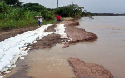 No hay recursos para la protección del dique perimetral. Arauca en alto riesgo en los sectores de la Payara, Torno y Corocito
