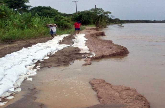 Secretaría de Planeación presentará proyecto por 6.300 millones de pesos para la mitigación del riesgo en Barrancones.