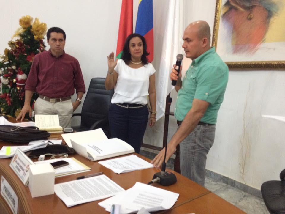 Ante la Contralora Departamental tomaron posesión los contralores estudiantiles de Tame, Cravo Norte y Puerto Rondón.