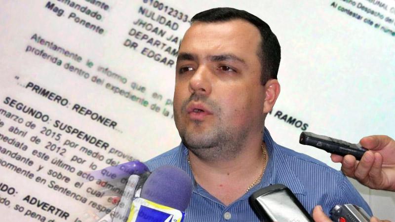 Abogado de Jhoan Giraldo Ballén interpondrá incidente de desacato contra gobernador de Arauca. Tribunal administrativo se pronunció
