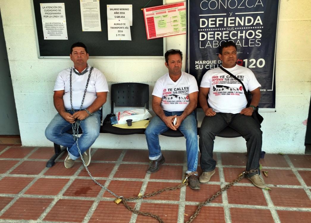 Graves denuncias contra dos inspectores del Ministerio de Trabajo en Arauca, hicieron trabajadores incapacitados ligados a hidrocarburos