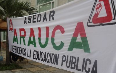 Vuelve jornada de protesta del Magisterio. Hoy, docentes de todo el país protestarán. Rechazan amenazas a directivas de FECODE.
