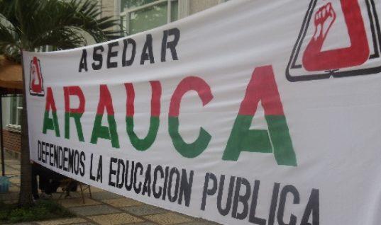 ASEDAR respeta decisión tomada por la Gobernación. Aseguró que la Secretaría de Educación es autónoma