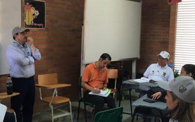 Gobernador instala la primera reunión de consejo departamental de gestión del riesgo de desastres.