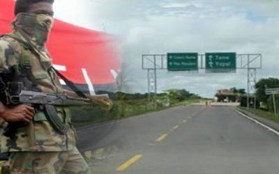 Extreman medidas de seguridad entre Boyacá y Arauca por paro armado del Eln