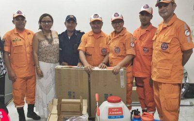 Alcaldía de Tame entrega elementos para cubrir emergencias a equipos de socorro