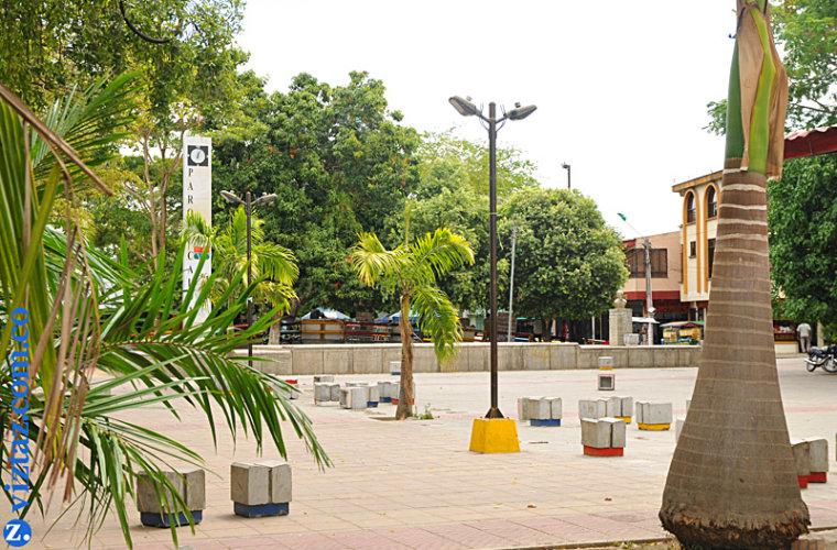 Preocupados comerciantes del parque Caldas porque Alcaldía anunció que  los va a reubicar. Piden concertar medida.