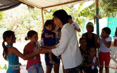 La Gestora Social del departamento, Luz María Sarzosa llevó a cabo la primera jornada de salud en el barrio Llano Alto del municipio de Arauca, con el apoyo de la ESE Moreno y Clavijo.
