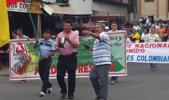 En desobediencia civil se declararán maestros en Arauca