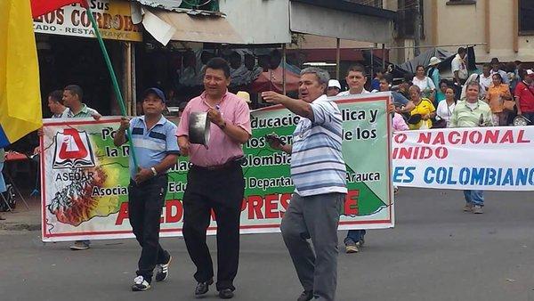 Escándalo en la Asociación de Educadores de Arauca. Maestros pidieron la renuncia del presidente Hernando Sánchez. Al parecer incumplió acuerdos.