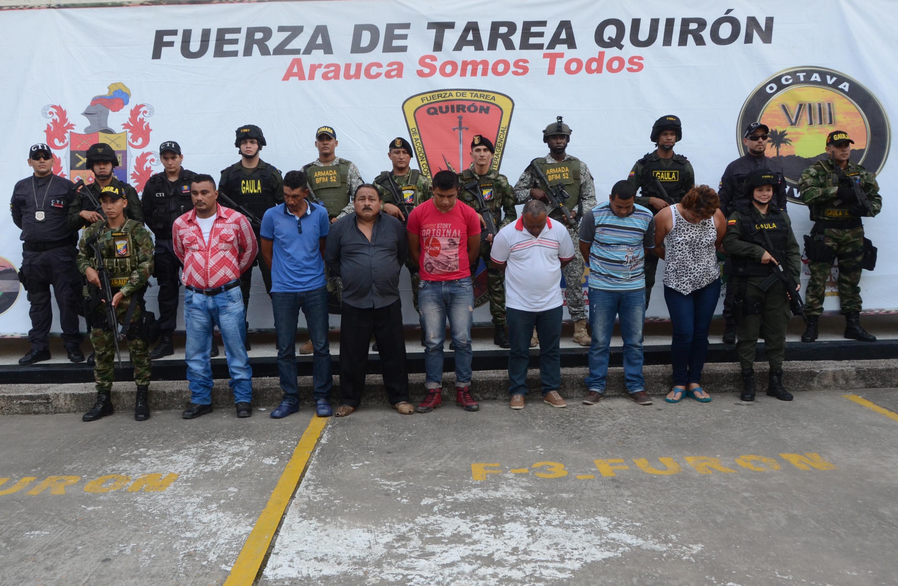 A la cárcel enviados ocho presuntos integrantes del ELN