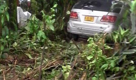 Aparatoso accidente de tránsito protagonizó funcionario de la Alcaldía de Saravena