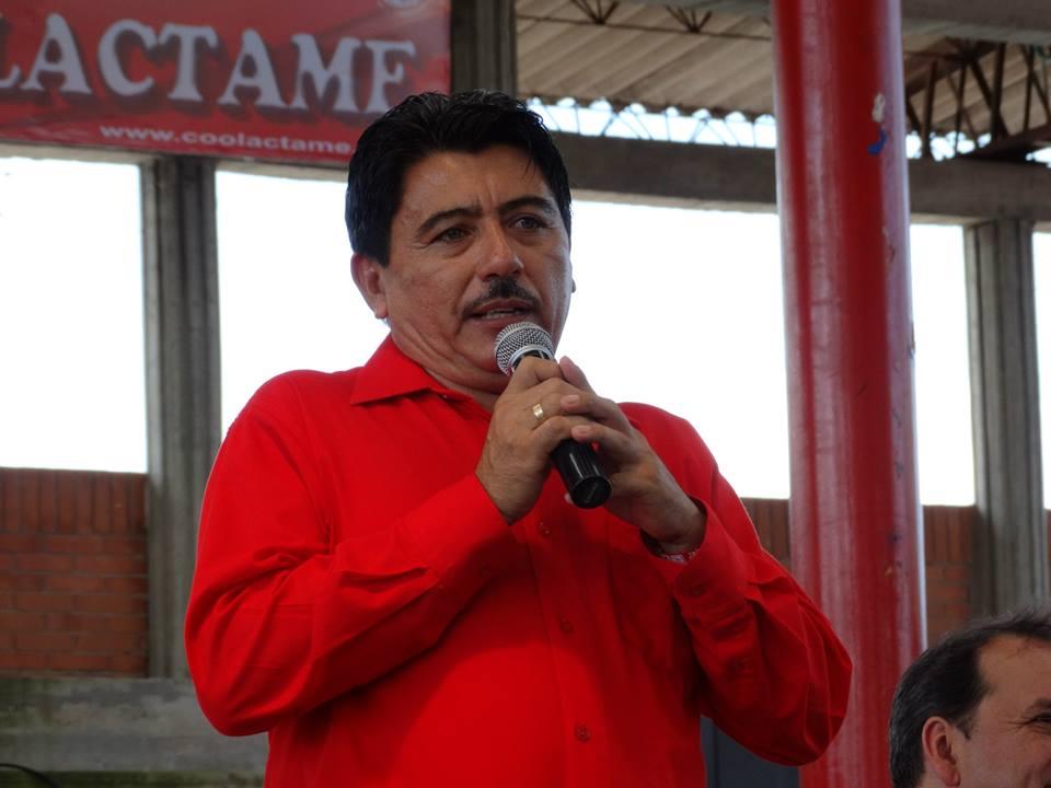 `No estoy detrás de la curul de Orjuela`, dice el diputado Rincón
