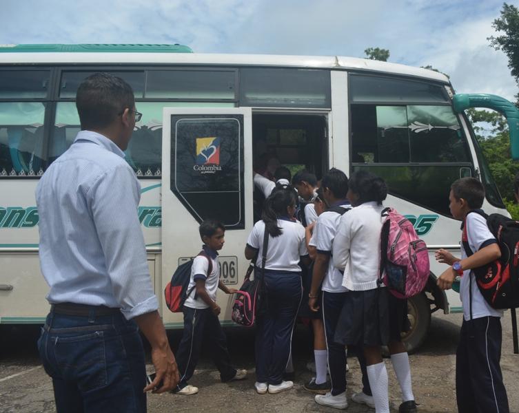 Empresas de Arauca dan la pelea para quedarse con proceso de transporte escolar