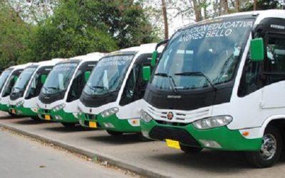 Del 18 al 22 de julio se suspenderá el servicio de  transporte escolar en el Municipio de Arauca