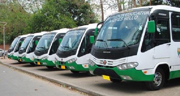 El 22 de agosto podría reanudarse transporte escolar en el departamento