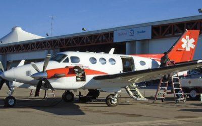70 millones de pesos, cuesta la operatividad mensual del avión  ambulancia