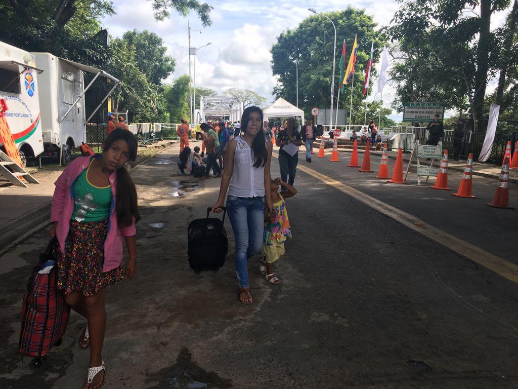 Beneficiado Arauca por apertura parcial de la frontera en el sector económico