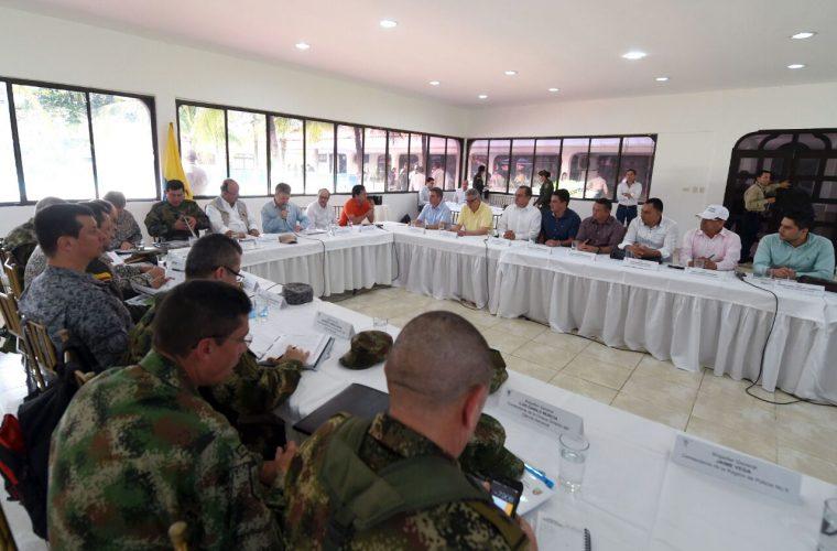 Santos habló de cuatro temas en Arauca