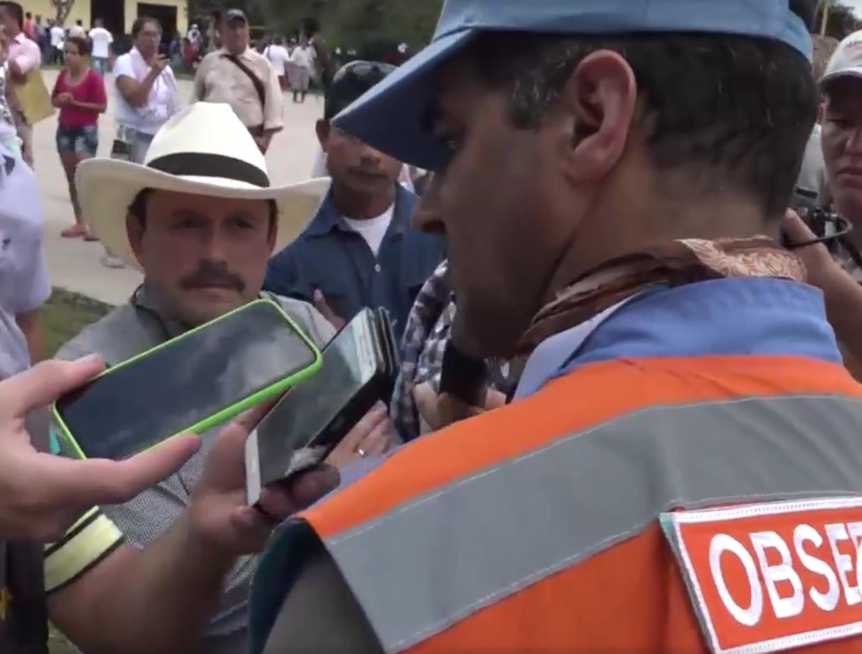 Observador uruguayo de Nacional Unidas acompaña proceso de paz