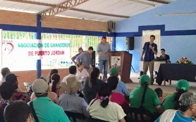 Habitantes de Puerto Jordán piden que les otorgue identidad, a la fecha no saben a qué Municipio pertenecen