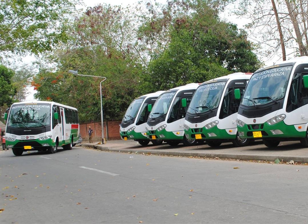 Restablecido servicio de transporte escolar en el municipio de Arauca