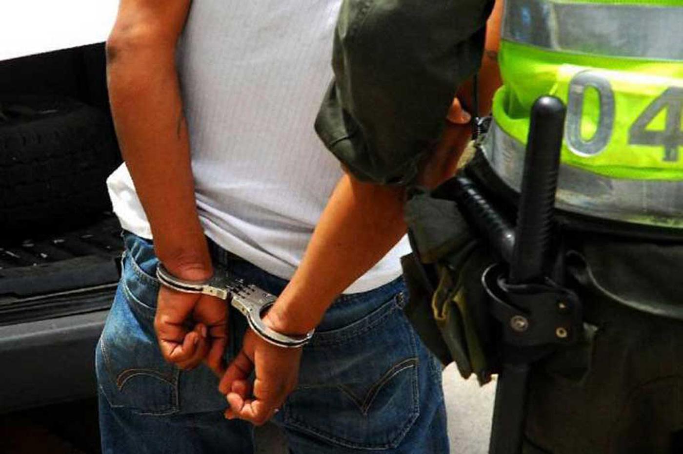 Doce personas capturadas en la última semana, reportó la Policía
