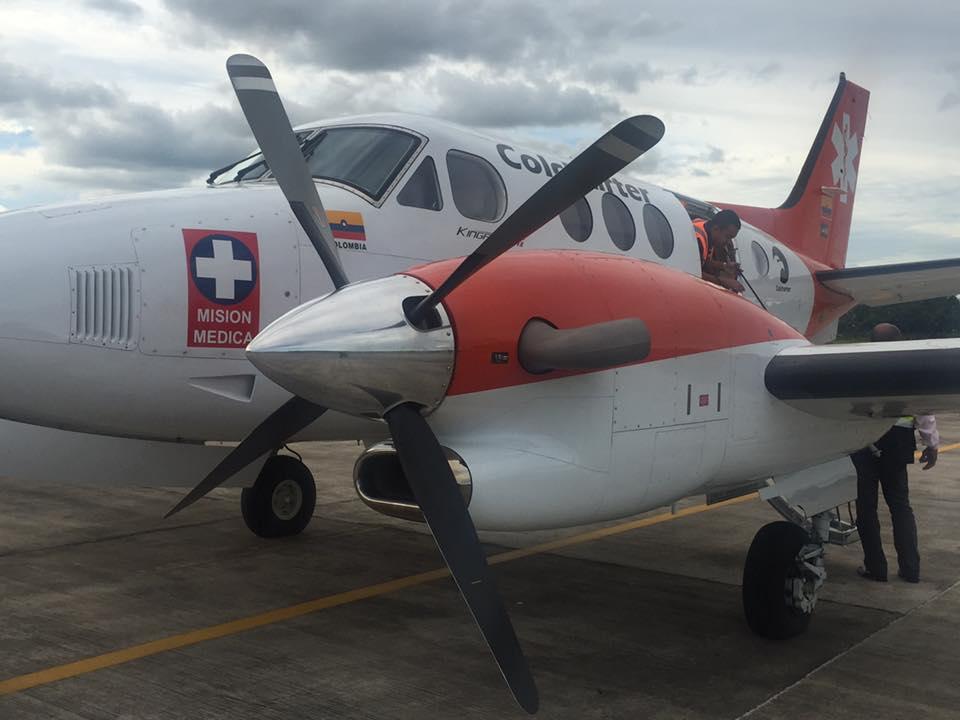 Avión ambulancia volvió a aterrizar en Arauca