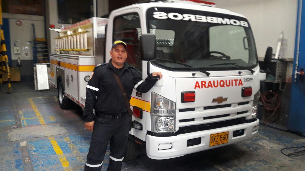 Cuerpo de Bomberos de Arauquita estrena vehículo
