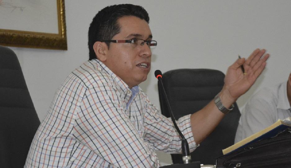 Presidente de la Asamblea preocupado por orden público. Dijo que el rearme de disidentes de las Farc, genera tensión.