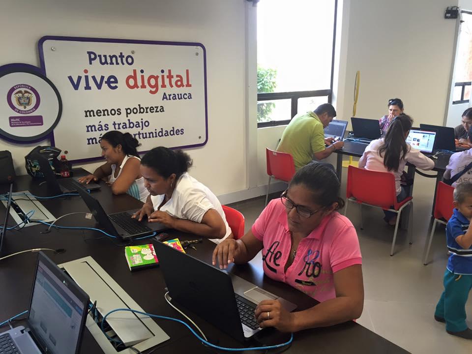En los puntos Vive Digital se hará pedagogía de paz