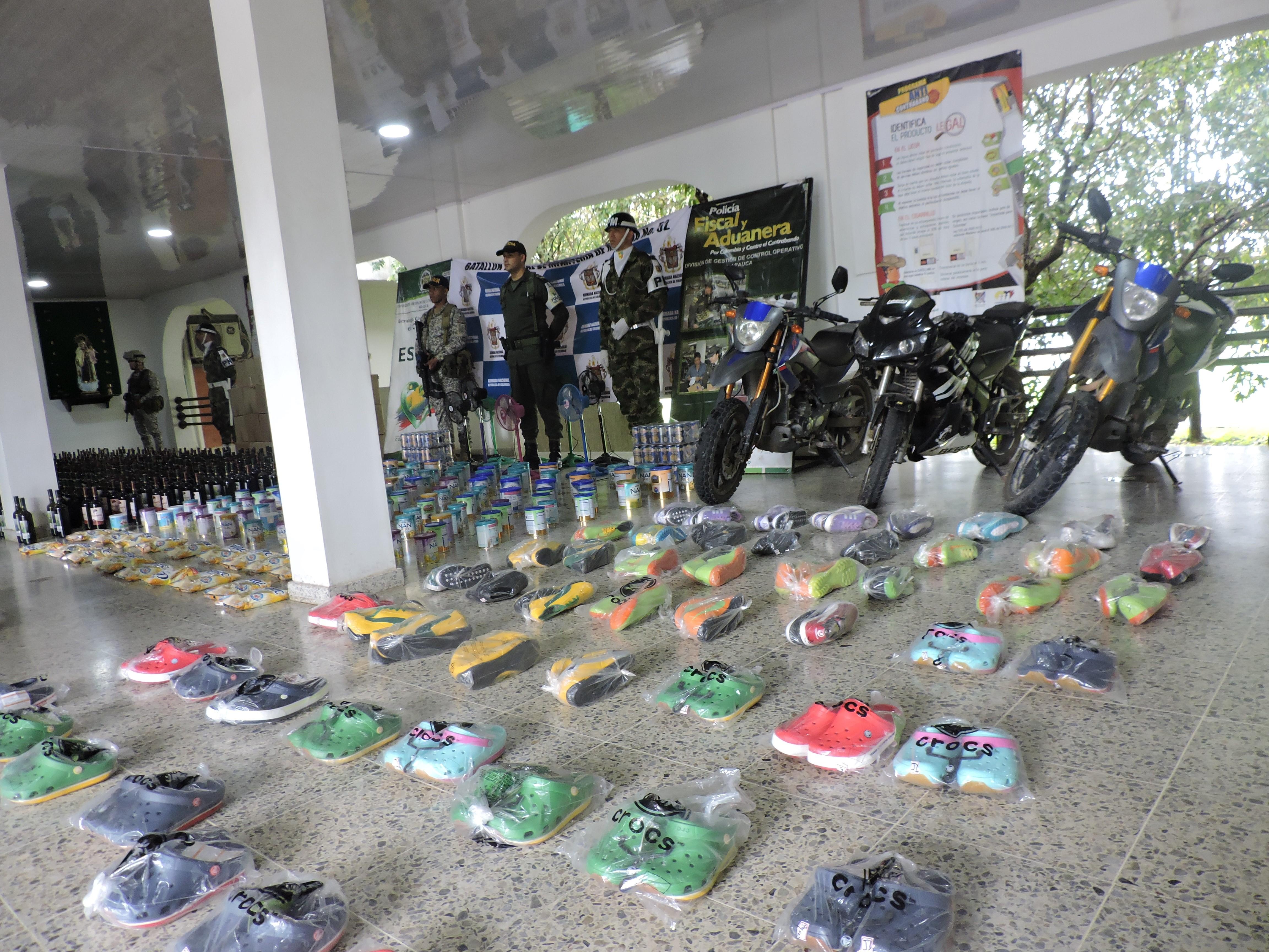 Policía Fiscal y Aduanera ha incautado más de 226 millones de pesos en  productos de contrabando