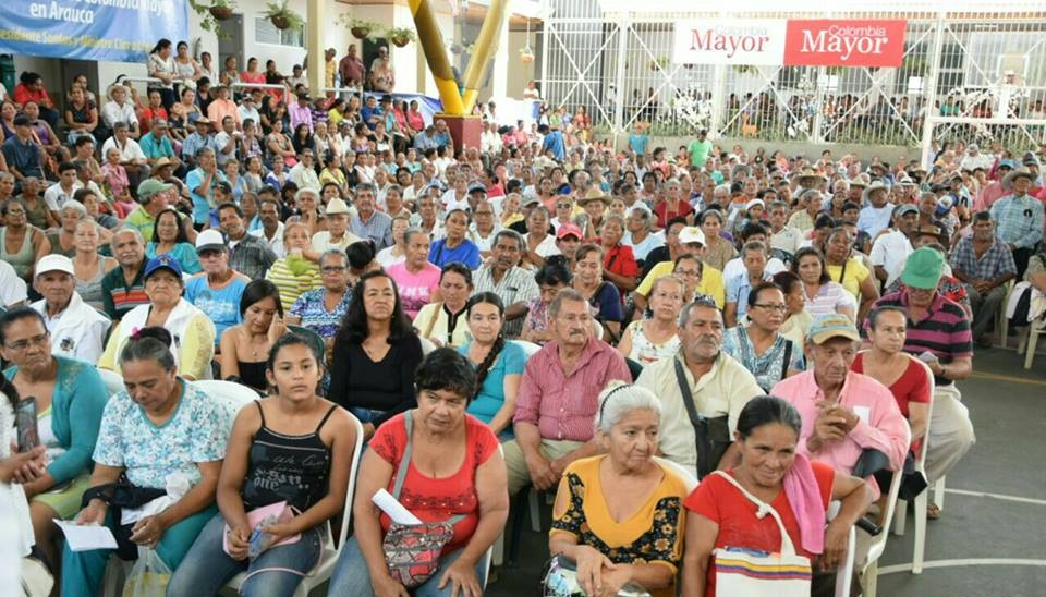 3.800 nuevos cupos en subsidios para adultos mayores del departamento de Arauca