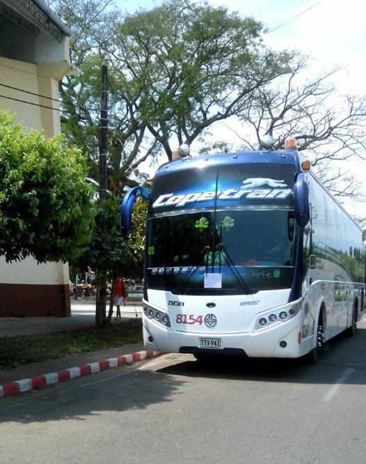 Guerrilla volvió a hurtar un bus de la empresa Copetrán