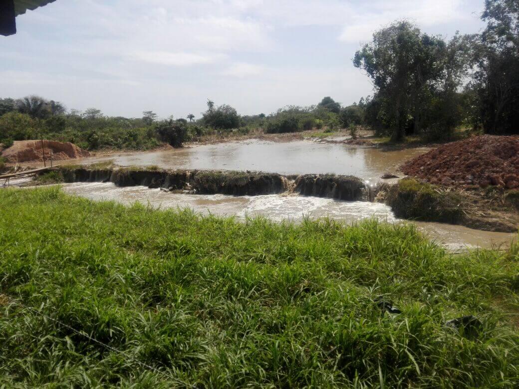 Con el agua hasta el cuello amanecen campesinos de varias veredas de Arauca y Arauquita