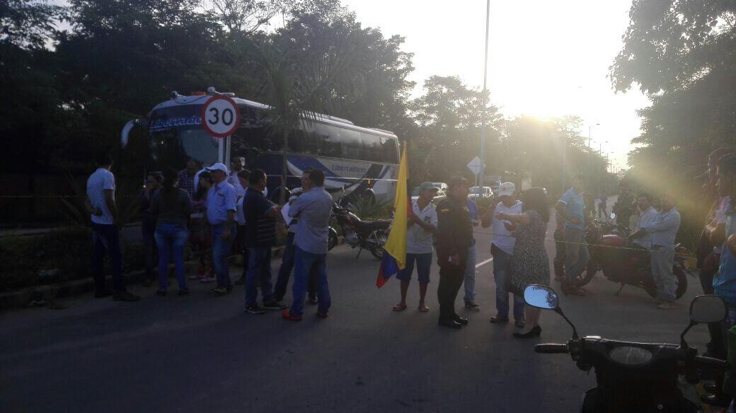Departamento de Arauca bloqueado