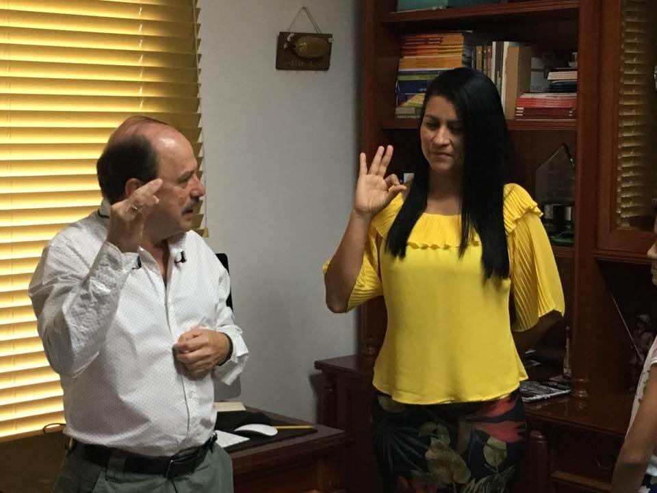 Yesenia Barrientos es la nueva Secretaria de Infraestructura del Departamento