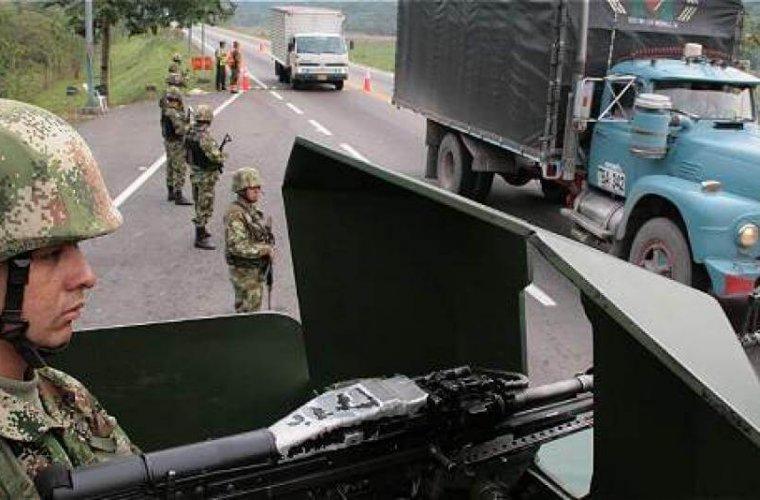 Ejército desplegó fuerte dispositivo de seguridad en vías del Departamento de Arauca