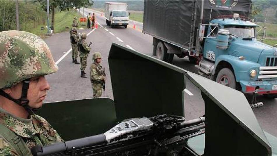 Con más Ejército en las vías y caravanas, Fuerza Pública buscará hacerle frente a paro armado del ELN