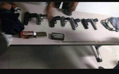 Armados y peligrosos los once capturados por la Policía, pero dejados en libertad por juez de control de garantías