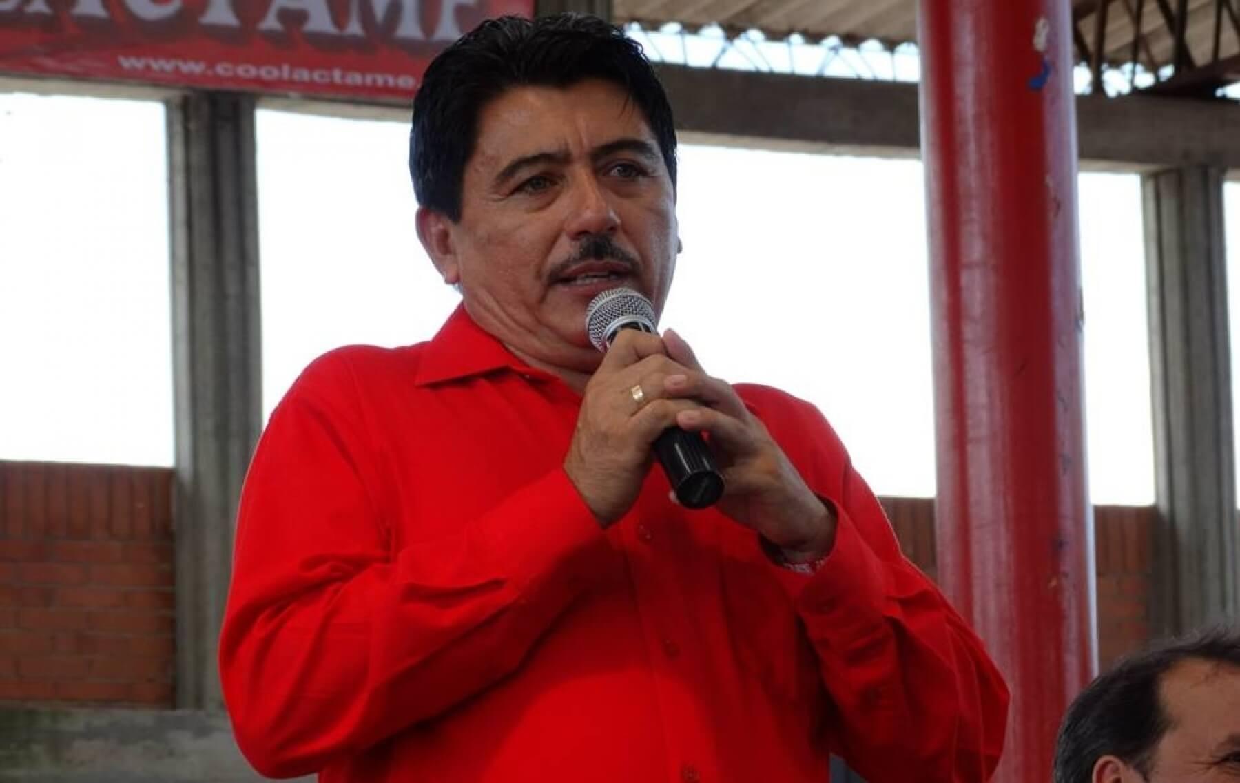 Eneiro Rincón habló sobre las acusaciones contra el Alcalde de Tame en evento político.