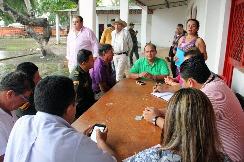 Con acuerdos interinstitucionales se dio solución al ganado incautado la semana pasada