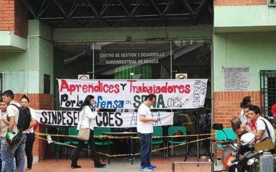 Protestas por doquier en Arauca