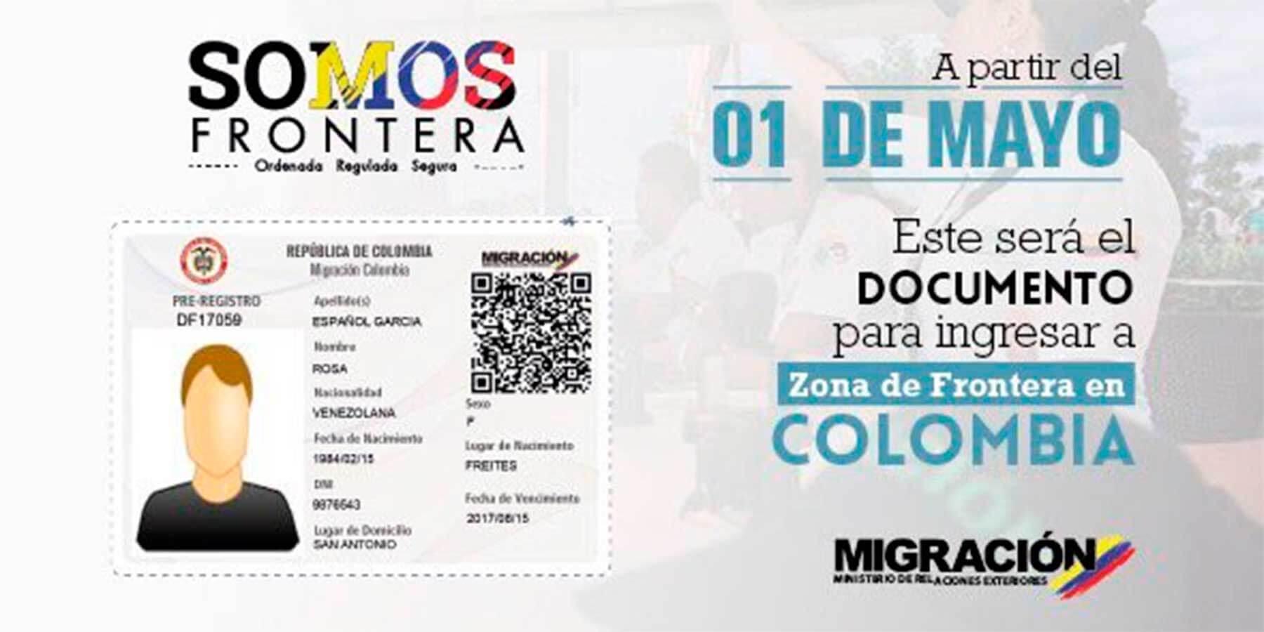 Tarjeta de Movilidad Fronteriza para venezolanos no tiene costo