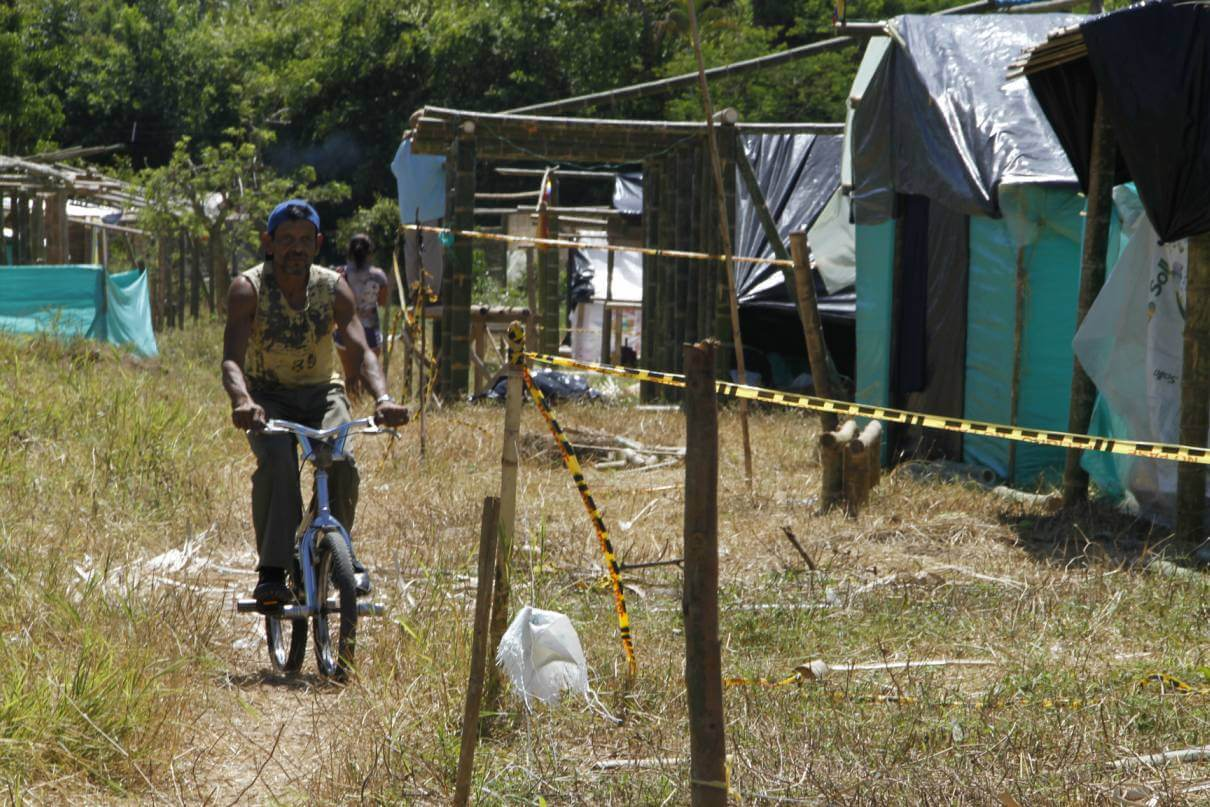 Van a reubicar a familias que invadieron ribera del río Arauca en Miramar.  Comunal, dijo que terrenos quedan cerca de la Terminal de Transportes.