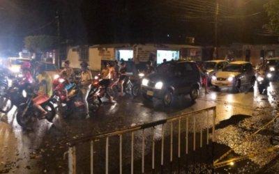 Caos en el tránsito de Arauca