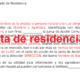 Cartas de residencia se entregan sin cumplir requisitos, denuncia la comunidad