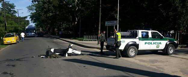 Tres heridos en accidente de tránsito entre uniformados de la Policía y el Ejército en Arauca