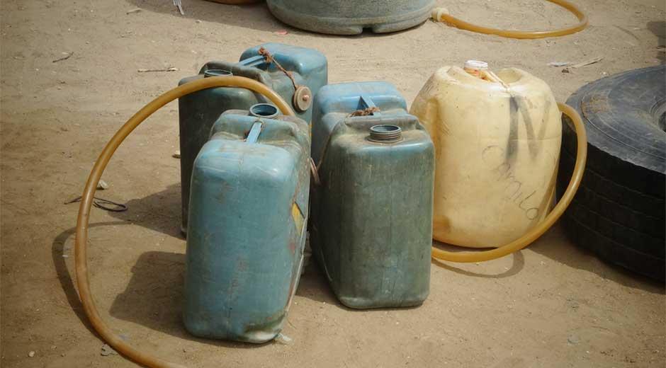 Duro golpe al contrabando de combustible venezolano propinó el Ejército Nacional en zona rural de Saravena