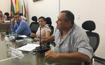 Fuerte agarrón en el Concejo de Arauca